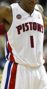 Detroit Pistons 2007 -08 Home kit