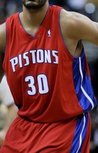Detroit Pistons 2003 -04 alternate jersey