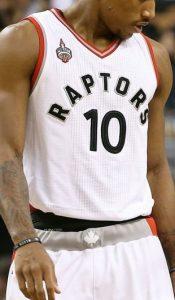 Toronto Raptors 2015 -16 Home jersey