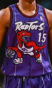 Toronto Raptors 1998 -99 away jersey