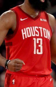 Houston Rockets 2018 -19 icon jersey