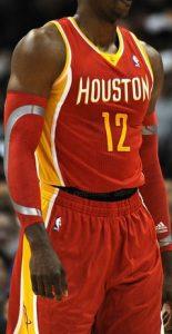 Houston Rockets 2013 -14 road jersey