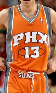 Phoenix Suns 2008 -09 road jersey