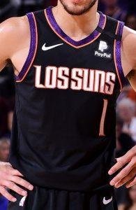 Phoenix Suns 2019 -20 latin city edition jersey