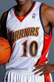 Golden State Warriors 2009 – 2010 Home kit