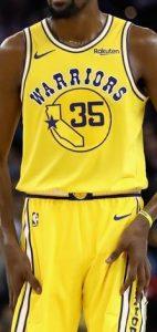 Golden State Warriors 2018 -19 throwback jersey
