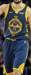 Golden State Warriors 2018 -19 chinese new year city jersey