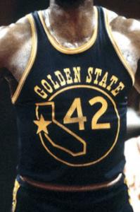 Golden State Warriors 1973 -74 alternate jersey