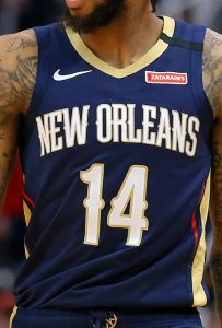 New Orleans Pelicans 2019 -20 icon jersey