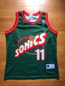 Seattle Supersonics 1996 -97 Away kit