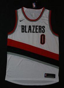 Portland Trail Blazers 2017 -18 association jersey