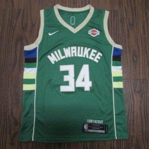 Milwaukee Bucks 2017 -18 icon jersey