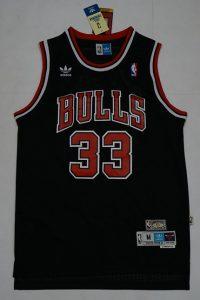 Chicago Bulls 1995 -96 alternate jersey