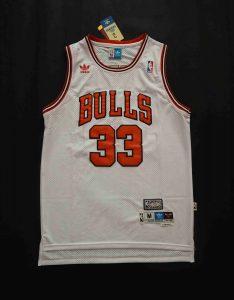 Chicago Bulls 1995 -96 home jersey