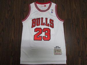 Chicago Bulls 1997 -98 home jersey