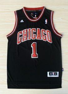 Chicago Bulls 2010 -11 alternate jersey