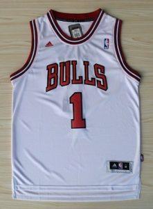 Chicago Bulls 2010 -11 home jersey