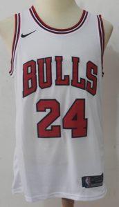 Chicago Bulls 2017 -18 association jersey