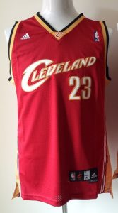 Cleveland Cavaliers 2008 -09 road jersey