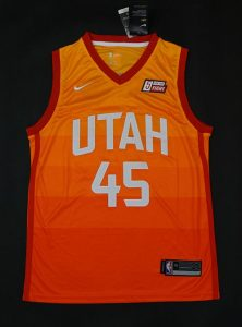 Utah Jazz 2017 -18 city jersey