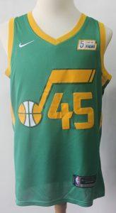 Utah Jazz 2017 -18 statement jersey