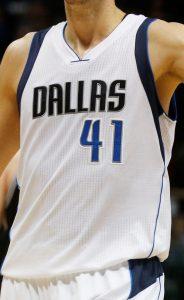 Dallas Mavericks 2014 -15 Home kit