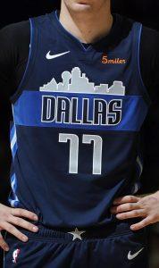 Dallas Mavericks 2018 -19 statement jersey