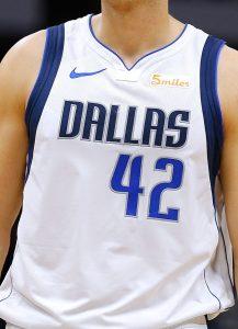 Dallas Mavericks 2018 -19 association jersey