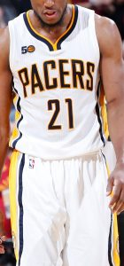 Indiana Pacers 2016 -17 Home kit