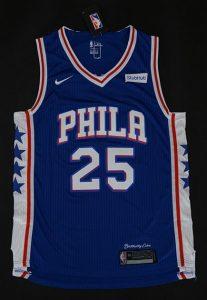 Philadelphia 76ers 2017 -18 icon jersey