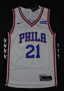 Philadelphia 76ers 2017 -18 association jersey