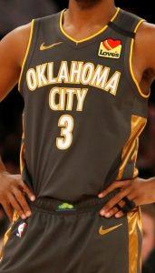 Oklahoma City Thunder 2019 -20 icon jersey