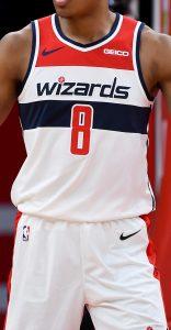 Washington Wizards 2019 -20 association jersey