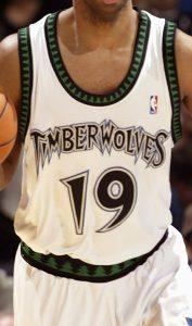 Minnesota Timberwolves 2003 -04 Home jersey