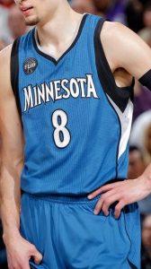 Minnesota Timberwolves 2015 -16 Home kit