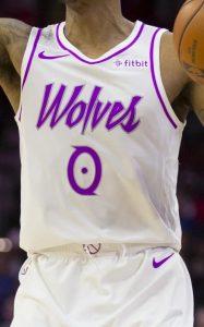 Minnesota Timberwolves 2018 -19 earned jersey