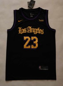 Los Angeles Lakers 2019 -20 city jersey
