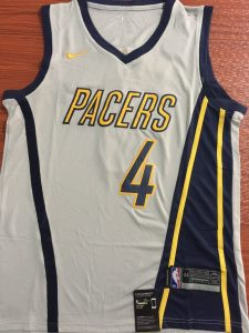 Indiana Pacers 2018 -19 city jersey