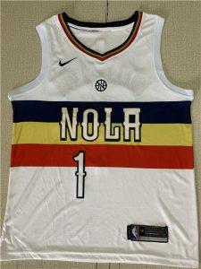 New Orleans Pelicans 2018 -19 earned jersey