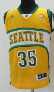 Seattle Supersonics 2007 -08  alternate jersey