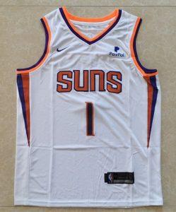 Phoenix Suns 2017 -18 association jersey
