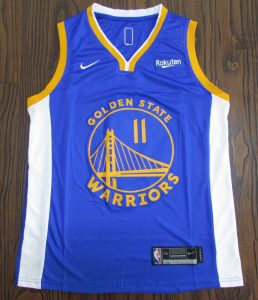 Golden State Warriors 2018 -19 icon jersey