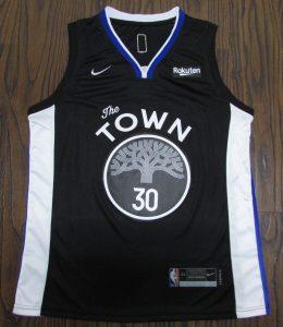 Golden State Warriors 2019 -20 city jersey
